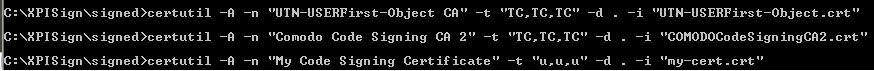 CodeSign XPI 3